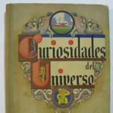 Coleccionismo Álbum: ANTIGUO ALBUM CURISIDADES DEL UNIVERSO. COMPLETO.. Lote 276956483