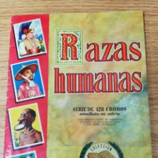 Coleccionismo Álbum: ALBUM RAZAS HUMANAS. COMPLETO.. Lote 277013873