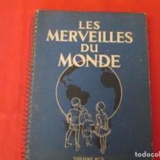 Coleccionismo Álbum: NESTLE LES MERVEILLES DU MONDE 2. Lote 277594228