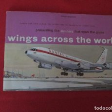 Coleccionismo Álbum: WING ACROSS THE WORLD LYONS TEAS. Lote 277614398