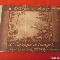 Coleccionismo Álbum: CHOCOLATS VICTORIA L´EUROPE EN IMAGES. Lote 277680008