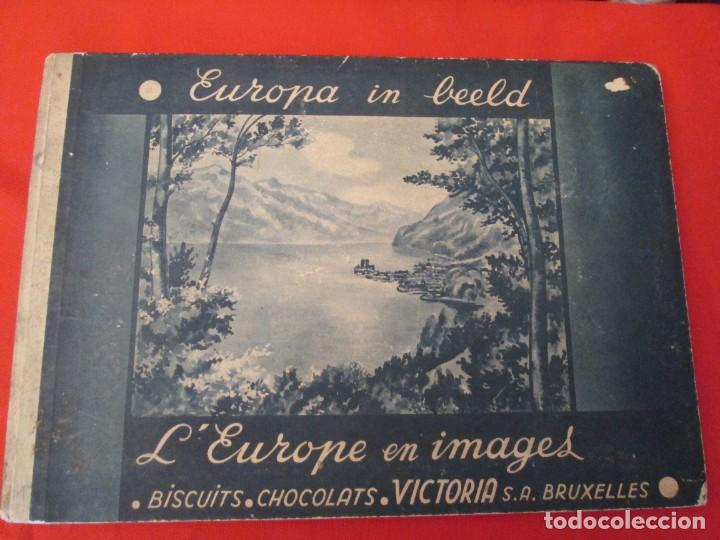 CHOCOLATS VICTORIA L´EUROPE EN IMAGES (Coleccionismo - Cromos y Álbumes - Álbumes Completos)
