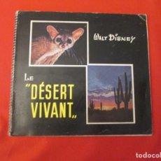 Coleccionismo Álbum: DISNEY LE DESERT VIVANT. Lote 277680688