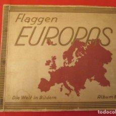 Coleccionismo Álbum: FLAGGEN EUROPAS. Lote 277681233