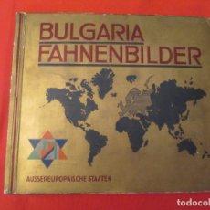 Coleccionismo Álbum: BULGARIA FAHNENBILDER. Lote 277681813