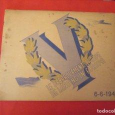 Coleccionismo Álbum: LE DEBARQUEMENT EN EUROPE 6-6-1944. Lote 277682138