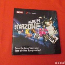 Coleccionismo Álbum: STARZONE SONY MUSIC. Lote 277763858