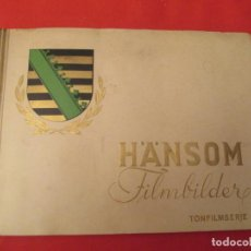 Coleccionismo Álbum: HANSOM FILMBILDER. Lote 277822633