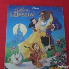Coleccionismo Álbum: DISNEY LA BELLA Y LA BESTIA. Lote 278177023