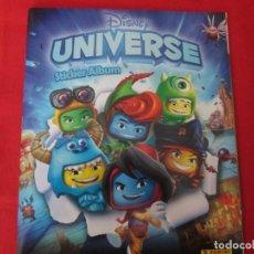 Coleccionismo Álbum: DISNEY UNIVERSE. Lote 278177693