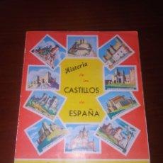 Coleccionismo Álbum: ALBUM COMPLETO HISTORIA DE LOS CASTILLOS DE ESPAÑA 113 CROMOS. Lote 278178578