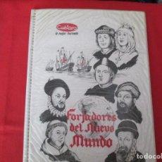Coleccionismo Álbum: PROMOCIONAL CUETARA FORJADORES DEL NUEVO MUNDO. Lote 278180278