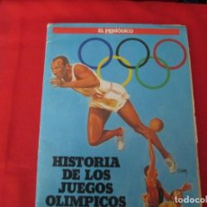 Coleccionismo Álbum: HISTORIA DE LOS JUEGOS OLIMPICOS. Lote 278181298