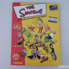 Coleccionismo Álbum: ÁLBUM COMPLETO DE THE SIMPSON ADVISORY AÑO 1999 DE PANINI. Lote 278183068
