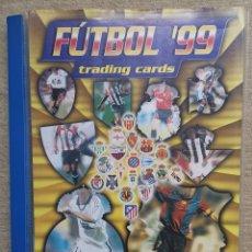 Collezionismo Álbum: ALBUM FÚTBOL 99 - TRADING CARDS CARTAS CROMOS - ROOKIE XAVI 1998 1999 - PANINI. Lote 278326333