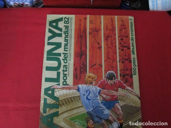 CATALUNYA PORTA DEL MUNDIAL 82 FUTBOL (Coleccionismo - Cromos y Álbumes - Álbumes Completos)