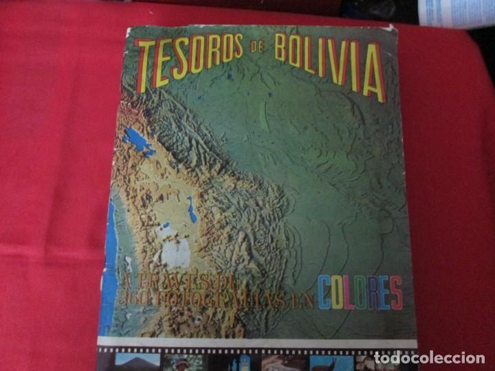 TESOROS DE BOLIVIA (Coleccionismo - Cromos y Álbumes - Álbumes Completos)