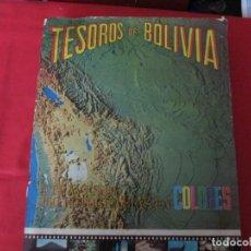 Coleccionismo Álbum: TESOROS DE BOLIVIA. Lote 278366063