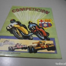 Coleccionismo Álbum: ALBUM COMPLETO COMPETICION AÑOS 80. Lote 278389183