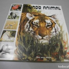 Coleccionismo Álbum: ALBUM COMPLETO MUNDO ANIMAL DE FHER 1984. Lote 278390598