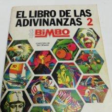 Coleccionismo Álbum: ALBUM EL LIBRO DE LAS ADIVINANZAS. 2. BIMBO.. Lote 278886798