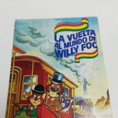 Coleccionismo Álbum: ALBUM LA VUELTA AL MUNDO DE WILLY FOG. DE DANONE. COLECCIÓN 96 CROMOS.. Lote 278891813