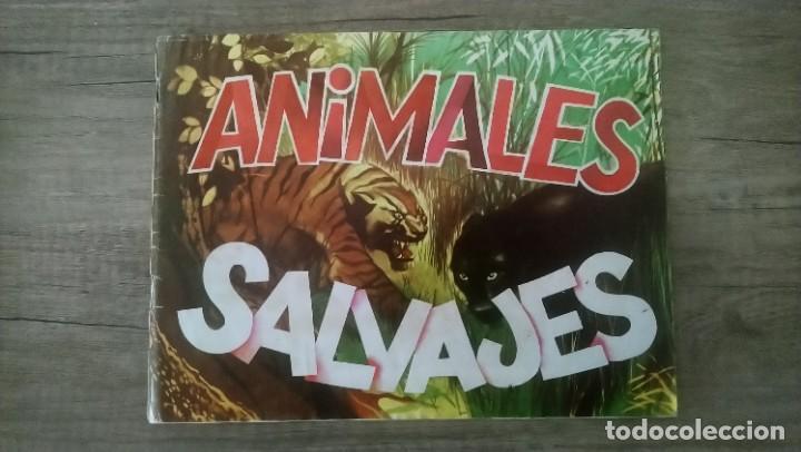 ANIMALES SALVAJES (Coleccionismo - Cromos y Álbumes - Álbumes Completos)