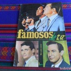 Coleccionismo Álbum: FAMOSOS DE TV T.V. COMPLETO 122 CROMOS. FHER 1966. BUEN ESTADO Y MUY DIFÍCIL.. Lote 279425018