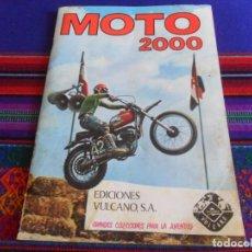 Coleccionismo Álbum: MOTO 2000 COMPLETO 200 CROMOS. VULCANO 1973.. Lote 279425738