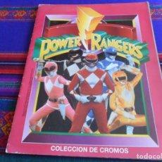 Coleccionismo Álbum: POWER RANGERS COMPLETO 198 CROMOS. EDICIONES ESTE 1994. BUEN ESTADO.. Lote 279428598