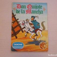 Collezionismo Álbum: ÁLBUM COMPLETO DE DON QUIJOTE DE LA MANCHA AÑO 1978 DE DANONE. Lote 280168543