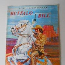 Colecionismo Caderneta: ALBUM CROMOS ORIGINAL COMPLETO BUFFALO BILL BUFALO FERCA 1962 ALBUN ALFREEDOM USA FAR WEST OESTE. Lote 281784553
