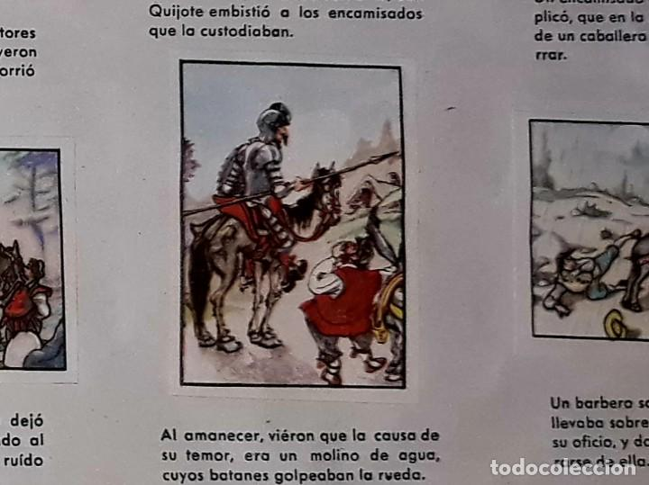 Coleccionismo Álbum: Album Don Quijote de la Mancha Completo ( Dibujante Iñigo ) Chocolates Lloveras - Foto 2 - 281802578