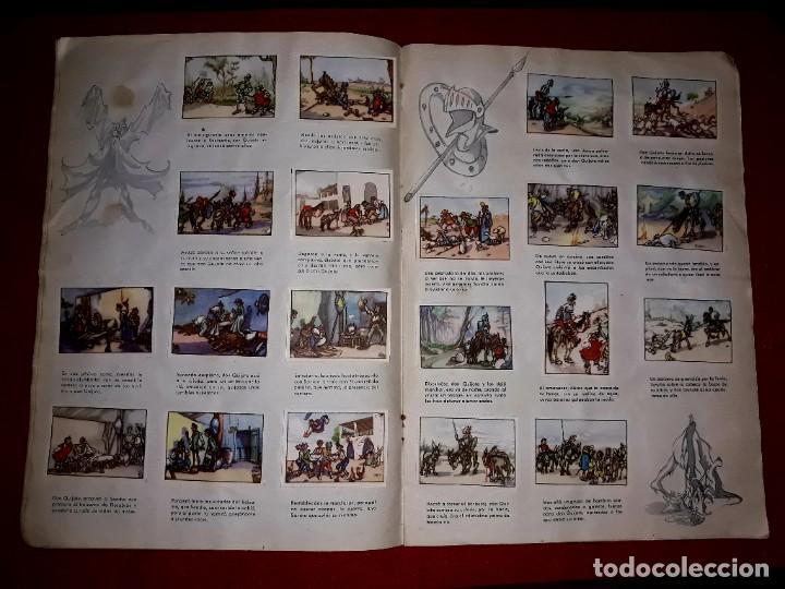 Coleccionismo Álbum: Album Don Quijote de la Mancha Completo ( Dibujante Iñigo ) Chocolates Lloveras - Foto 3 - 281802578