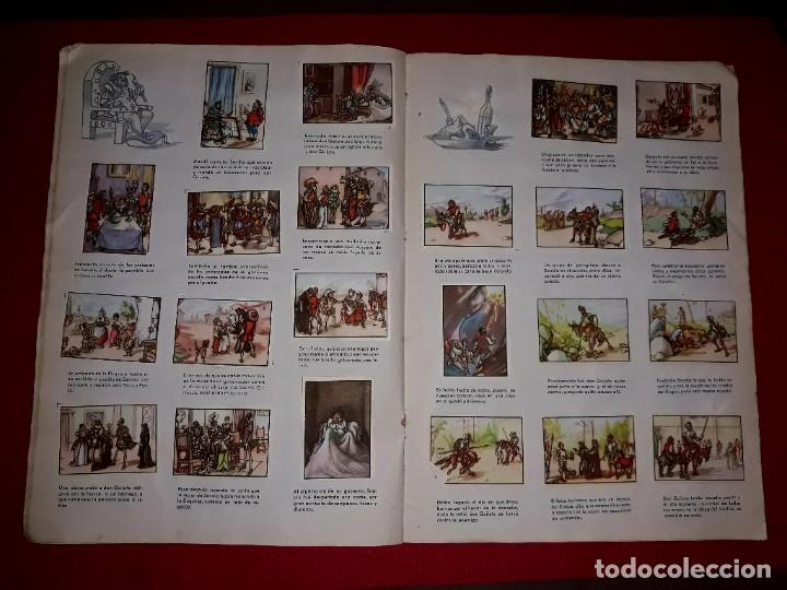 Coleccionismo Álbum: Album Don Quijote de la Mancha Completo ( Dibujante Iñigo ) Chocolates Lloveras - Foto 4 - 281802578