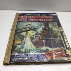 Coleccionismo Álbum: ALBUM DE LAS ESCUADRAS DE GUERRA - ED. CRISOL - COMPLETO. Lote 283287728