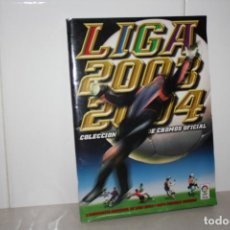 Coleccionismo Álbum: ANTIGUO ALBÚM COMPLETO DE FÚTBOL LIGA 2003-2004. COLECCIONES ESTE. Lote 283794468