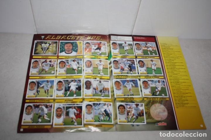 Coleccionismo Álbum: Antiguo Albúm completo de fútbol Liga 2003-2004. Colecciones Este - Foto 2 - 283794468