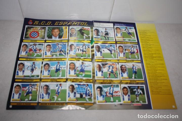 Coleccionismo Álbum: Antiguo Albúm completo de fútbol Liga 2003-2004. Colecciones Este - Foto 9 - 283794468