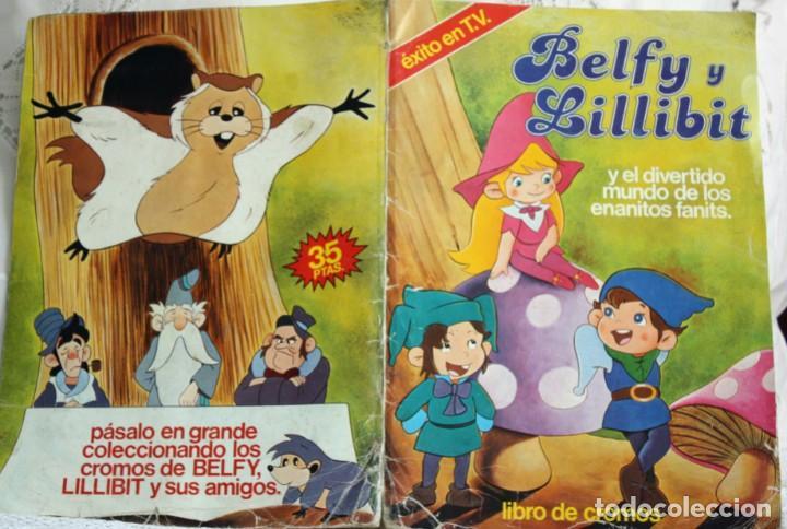 BELFY Y LILLIBIT - COMPLETO (Coleccionismo - Cromos y Álbumes - Álbumes Completos)