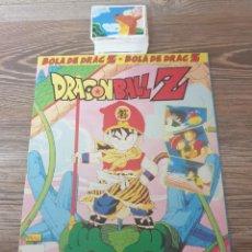 Coleccionismo Álbum: COLECCION COMPLETA SIN PEGAR DRAGON BALL Z MUY DIFICIL DE CONSEGUIR-ALBUM VACIO-PLANCHA(1991). Lote 285434153