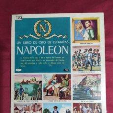 Coleccionismo Álbum: ALBUM DE CROMOS COMPLETO. NAPOLEON. EL LIBRO DE ORO DE LAS ESTAMPAS. Nº 63. NOVARO. Lote 285559773