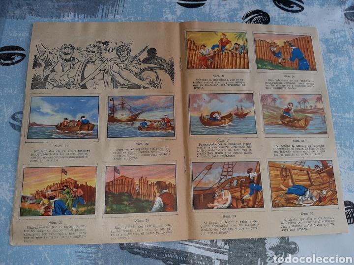 Coleccionismo Álbum: Álbum Grandes Obras, 20.000 Leguas de viaje submarino , La Isla del tesoro, Robinson Crusoe - Foto 4 - 285991208