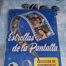 Coleccionismo Álbum: ESTRELLAS DE LA PANTALLA, RUIZ ROMERO, COMPLETO. Lote 285994513