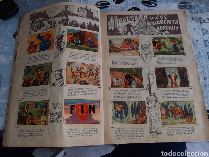 Coleccionismo Álbum: Grandes obras, Ali Baba, Quo Vadis, Robin Hood, completo , Editorial Ferma - Foto 3 - 285997833