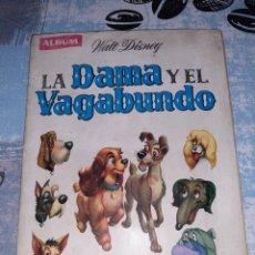 Coleccionismo Álbum: LA DAMA Y EL VAGABUNDO, ÁLBUM EDICIONES CLIPER. Lote 286344023