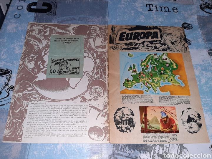 Coleccionismo Álbum: Álbum Grandes Conquistadores, Exclusivas Ferma, Completo - Foto 2 - 286350338