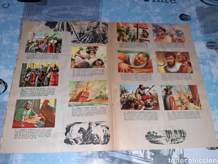 Coleccionismo Álbum: Álbum Grandes Conquistadores, Exclusivas Ferma, Completo - Foto 5 - 286350338