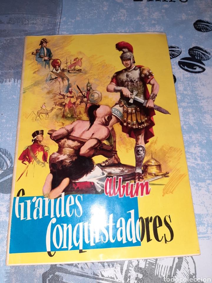 ÁLBUM GRANDES CONQUISTADORES, EXCLUSIVAS FERMA, COMPLETO (Coleccionismo - Cromos y Álbumes - Álbumes Completos)
