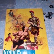 Coleccionismo Álbum: ÁLBUM GRANDES CONQUISTADORES, EXCLUSIVAS FERMA, COMPLETO. Lote 286350338